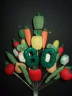 Allotment 80th birthday cake topper decoration - free postage